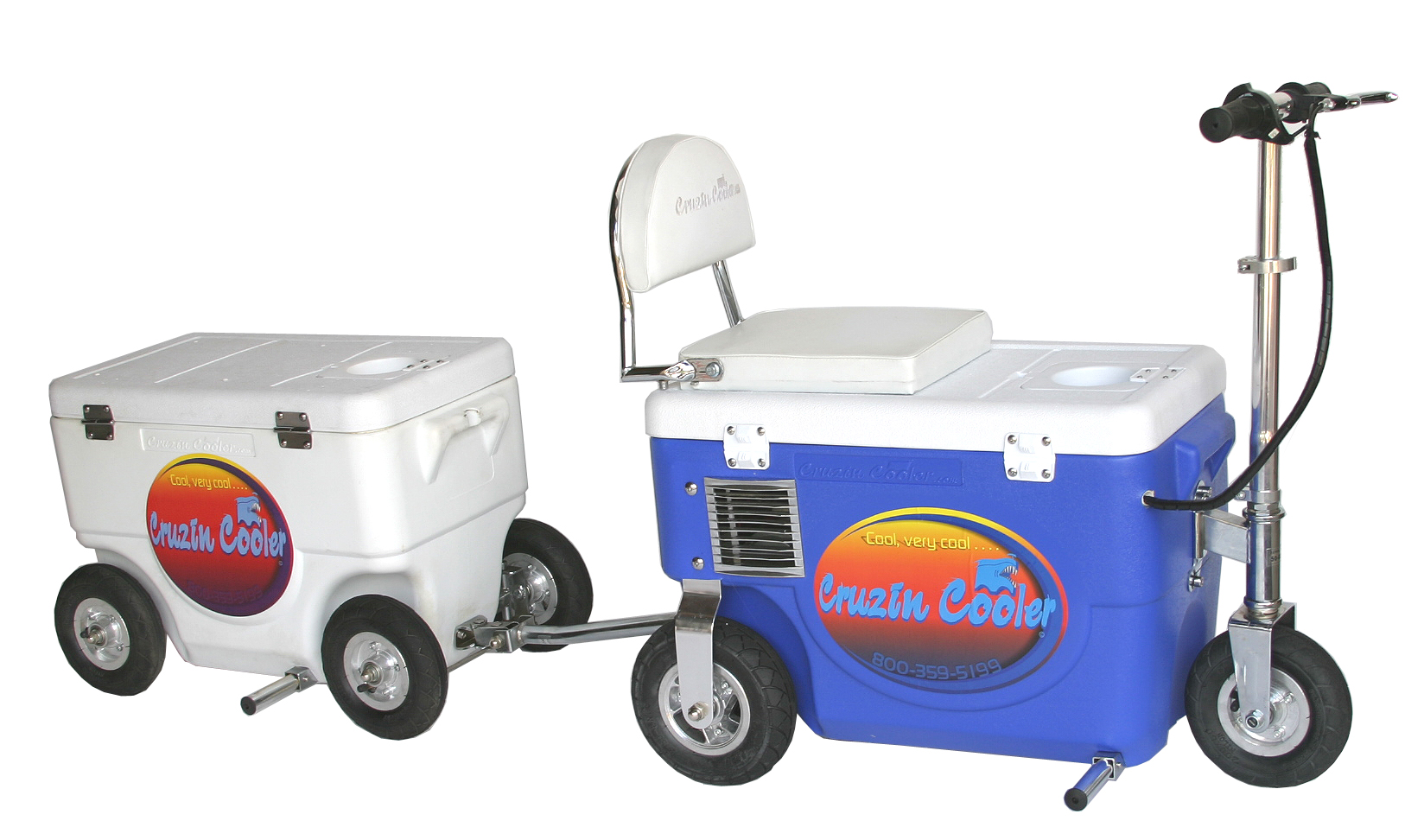 Motorized Riding Coolers